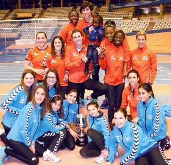 El equipo valenciano que logró el título. FOTO: DIVAL
