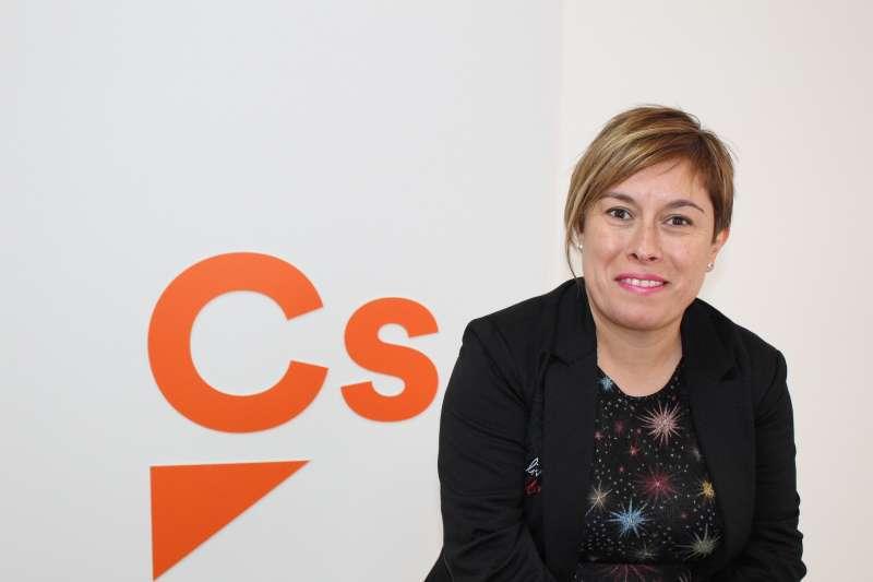 La portavoz provincial de Ciudadanos (Cs) en Castellón, Merche Ventura. EPDA