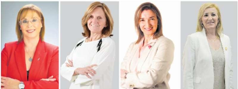 Alcaldesas de la comarca. / EPDA