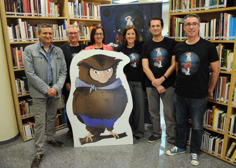 Un momento de la presentación en una imagen facilitada por la Diputación de Valencia. EFE