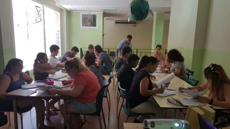 Imagen de los participantes en el proyecto EMPACE. EPDA