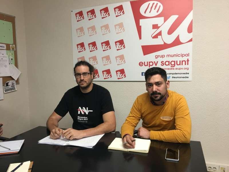 Guillermo Sampedro y Roberto Rovira. EPDA