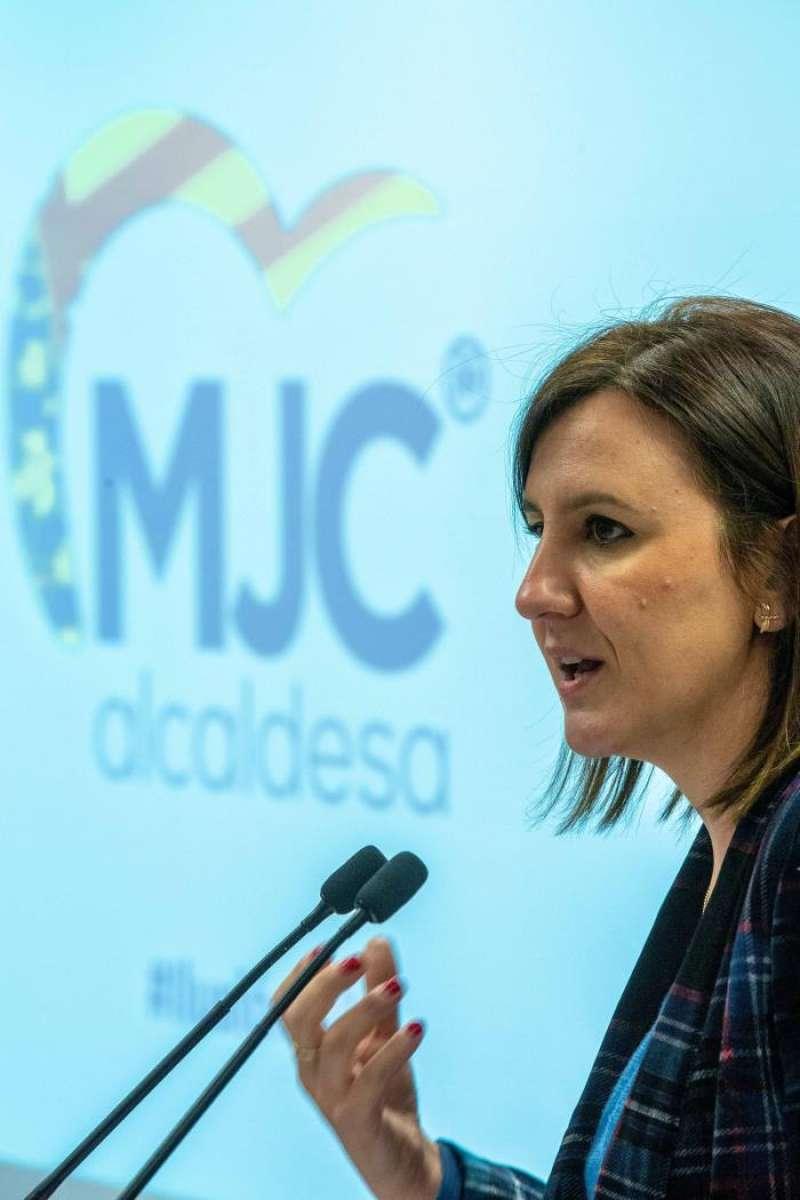 La candidata del PP a la Alcaldía de València, María José Catalá. EFE/Archivo