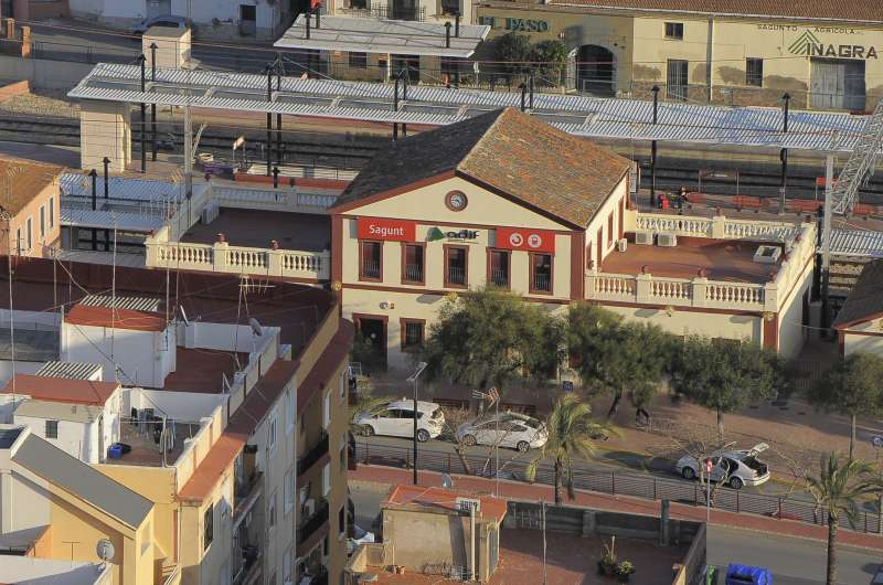 Estación de tren de Sagunt. EPDA