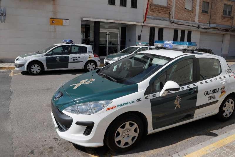 Imagen de un cuartel de la Guardia Civil.