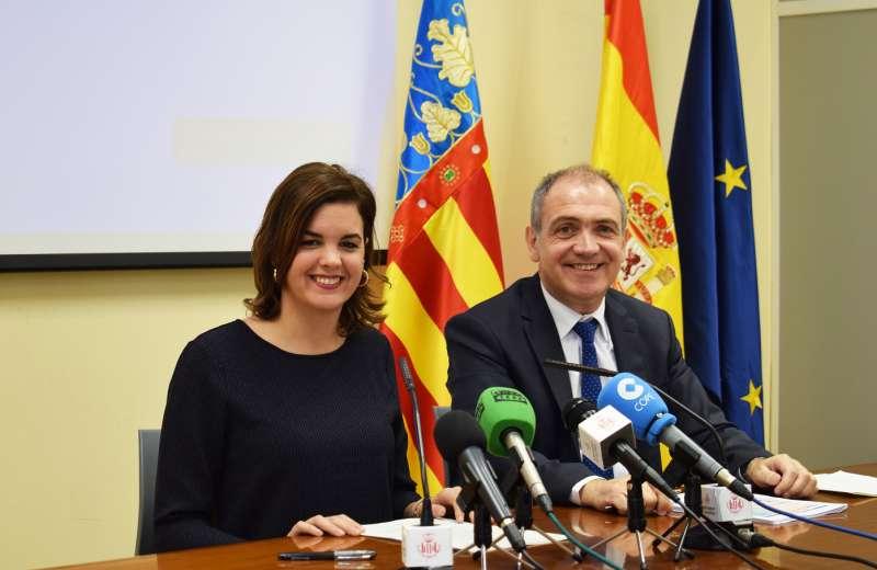Sandra Gómez y Antoni Bernabé.