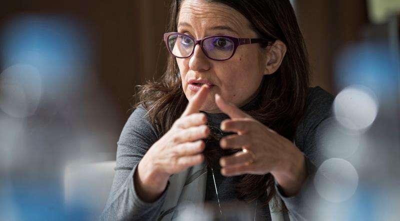 La vicepresidenta del Consell y consellera de Igualdad y Políticas Inclusivas, Mönica Oltra. EFE/Archivo