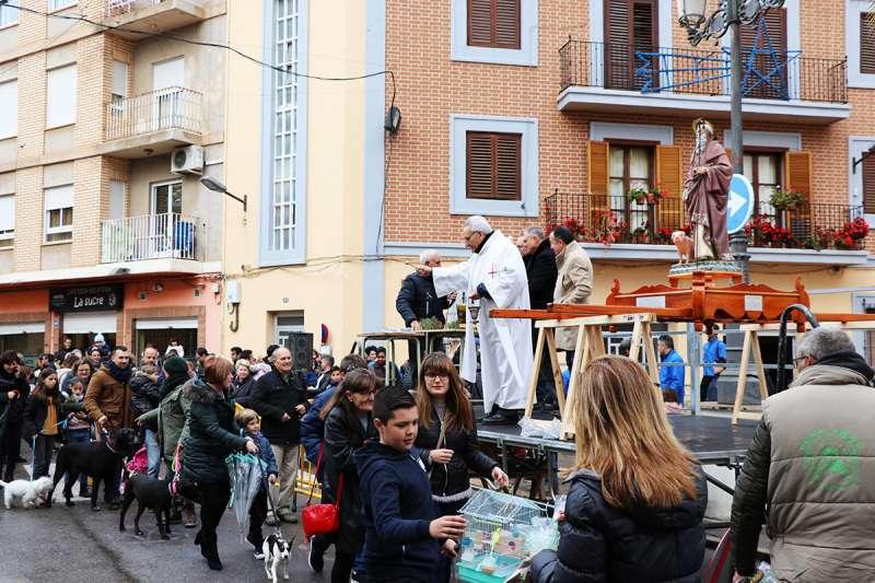 Imagen de las fiestas de Sant Antoni en Llíria.