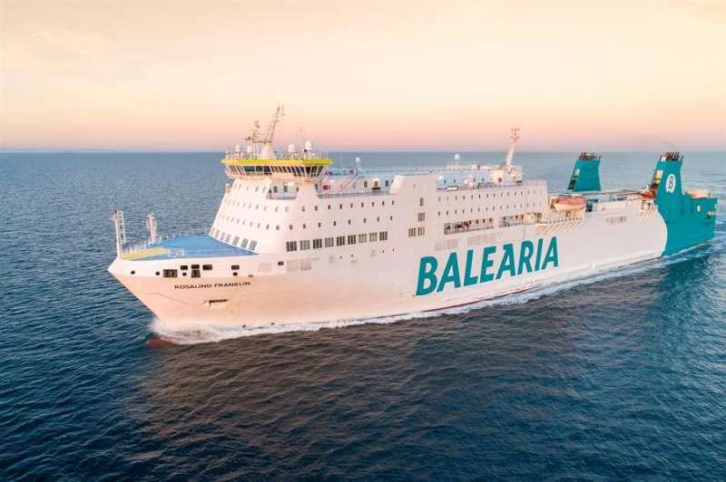 Imagen cedida por Balearia de uno de sus buques. EFE