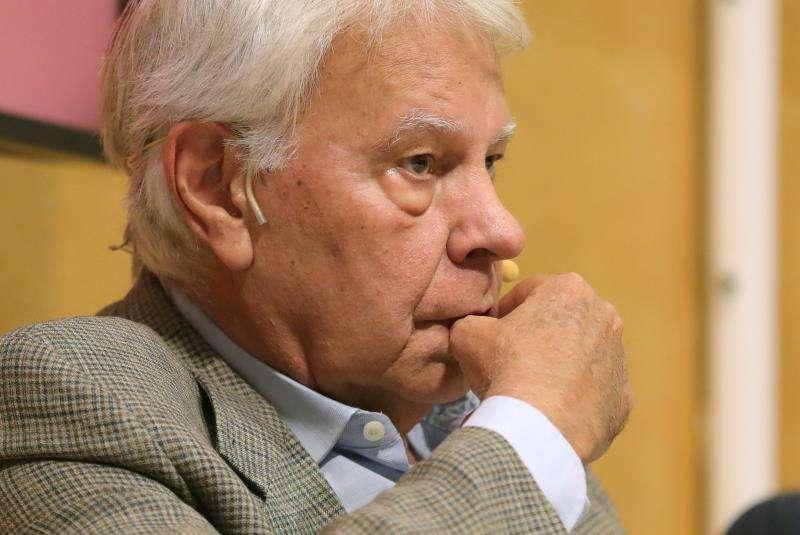 El expresidente del Gobierno Felipe González. EFE/Archivo