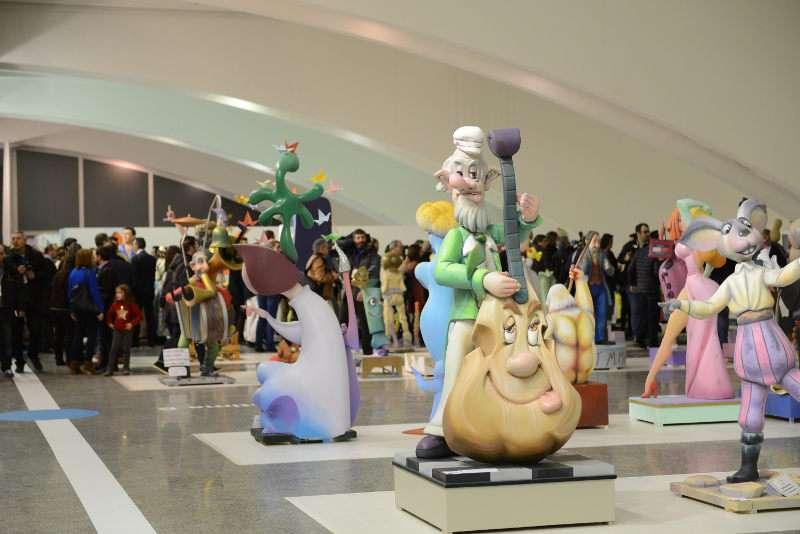 La Exposició del Ninot en Valencia