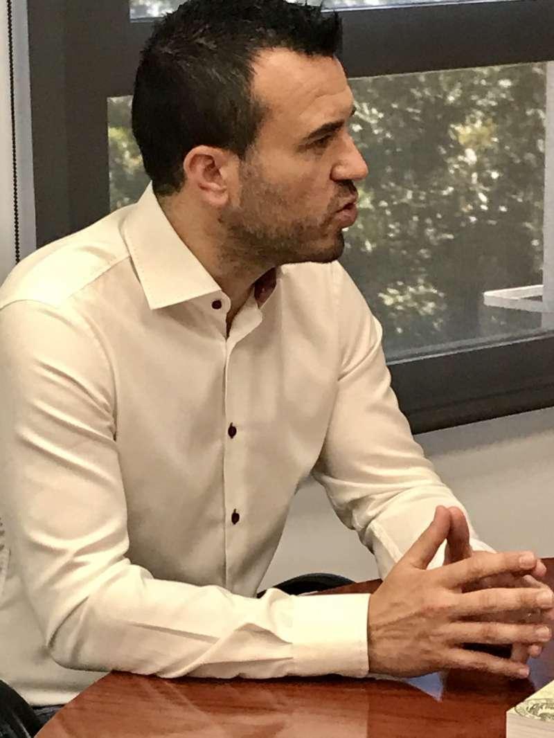 El portavoz del Grupo Popular en la Diputación de Valencia, Vicente Mompó.