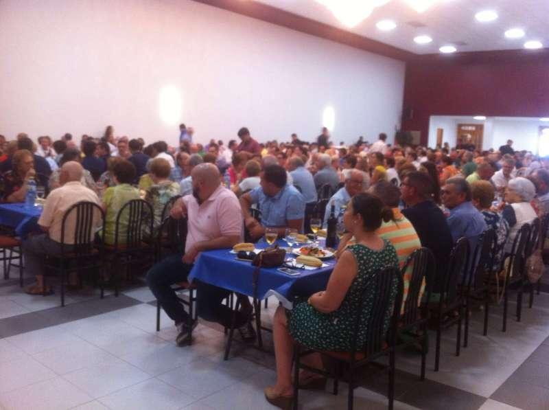 Otra imagen de la cena. FOTO EPDA