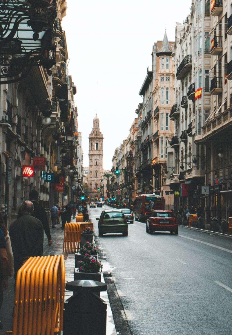 Coches por la ciudad / EPDA