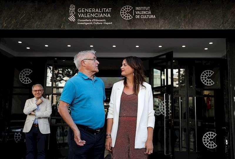 El alcalde de València, Joan Ribó, y la vicelalcaldesa, Sandra Gómez. EFE/Archivo