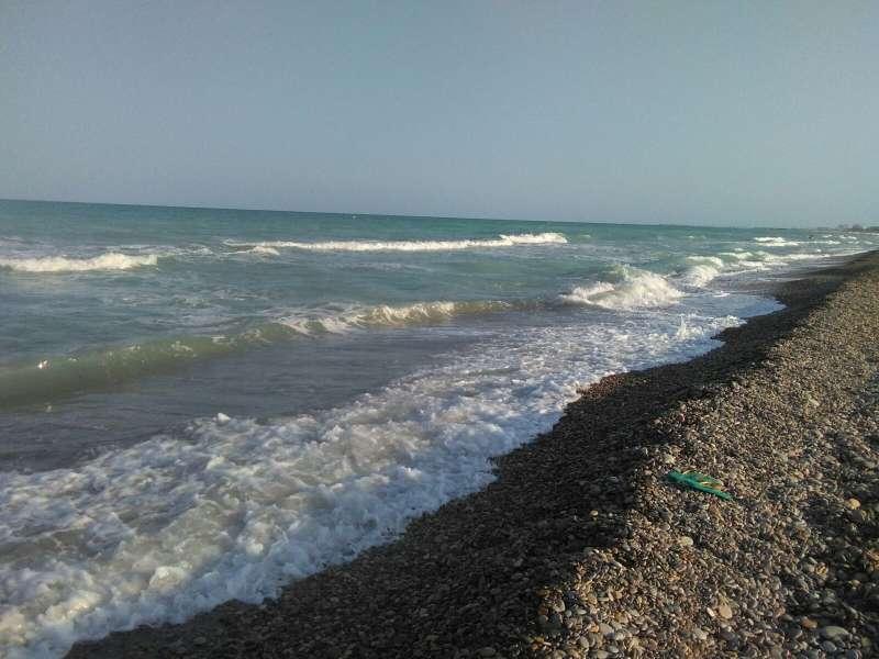 Playa Corinto de Sagunt.
