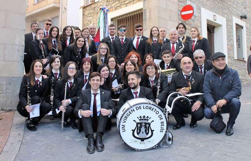 Banda de la Agrupación Musical de Bejís