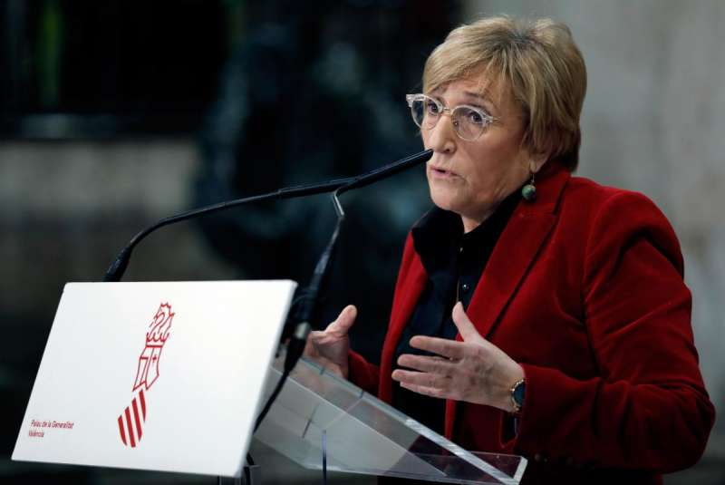 La consellera de Sanidad, Ana Barceló. EFE