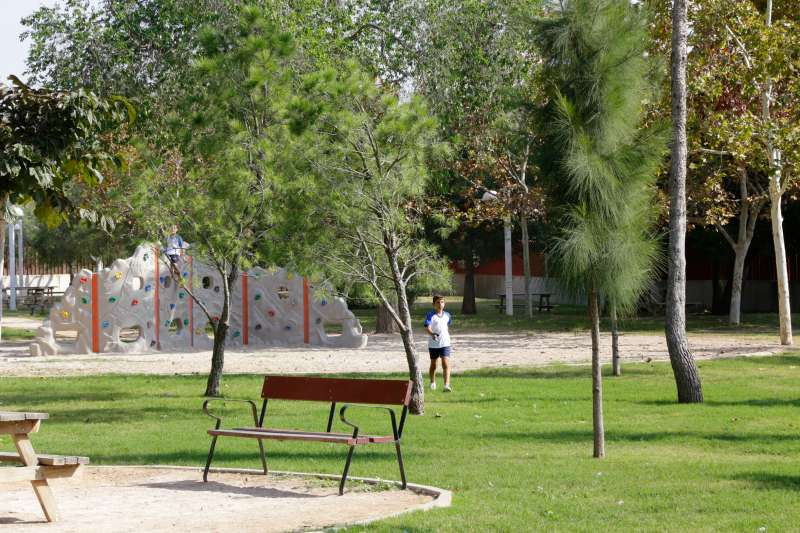 Parque de Mislata./ EPDA