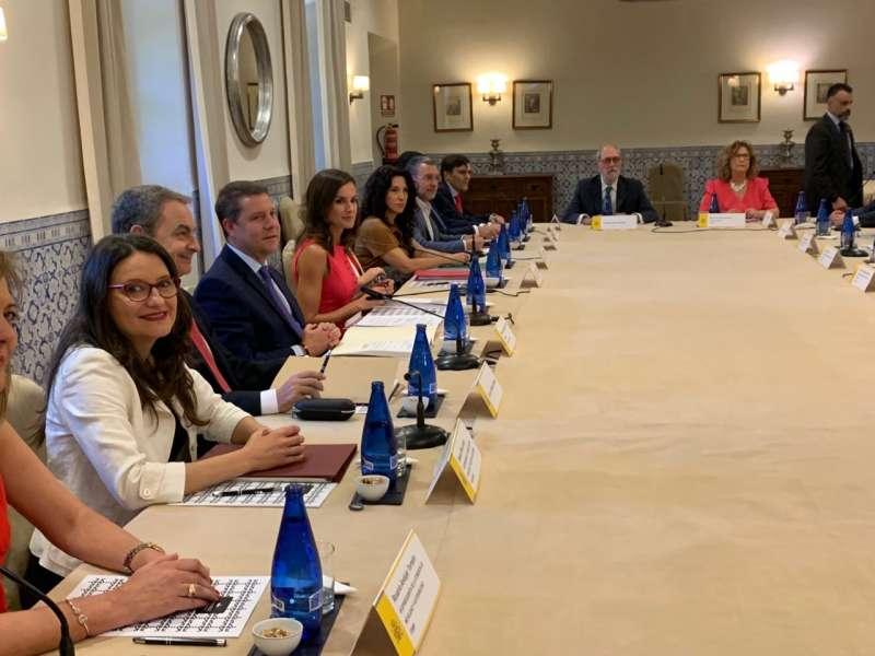 Oltra ha participado en la reunión del consejo del Real Patronato sobre Discapacidad. GVA
