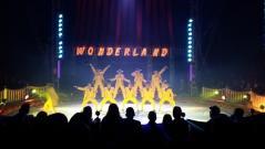 Una de las actuaciones en el circo Wonderland