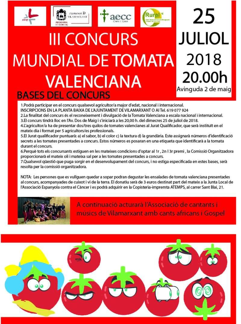 Cartell del Mundial de Tomata