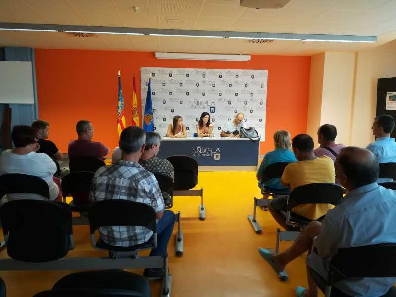 Entidades deportivas las invitadas por la nueva concejala del área, Dolores Bayarri. AYUNTAMIENTO DE PEÑÍSCOLA