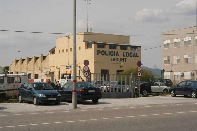 Retén de la Policía Local de Sagunt. EPDA