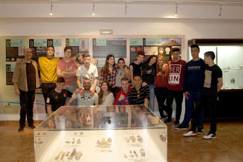 Visita escolar al museo