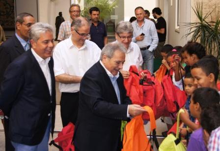 La Diputación de Valencia abre sus puertas a los niños saharauis. Foto EPDA