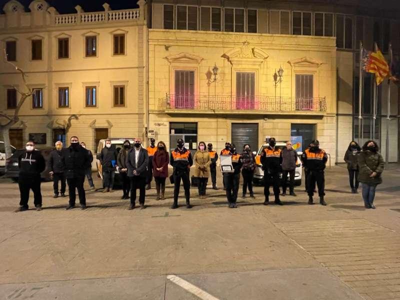Homenaje a Protección Civil en Massamagrell. EPDA