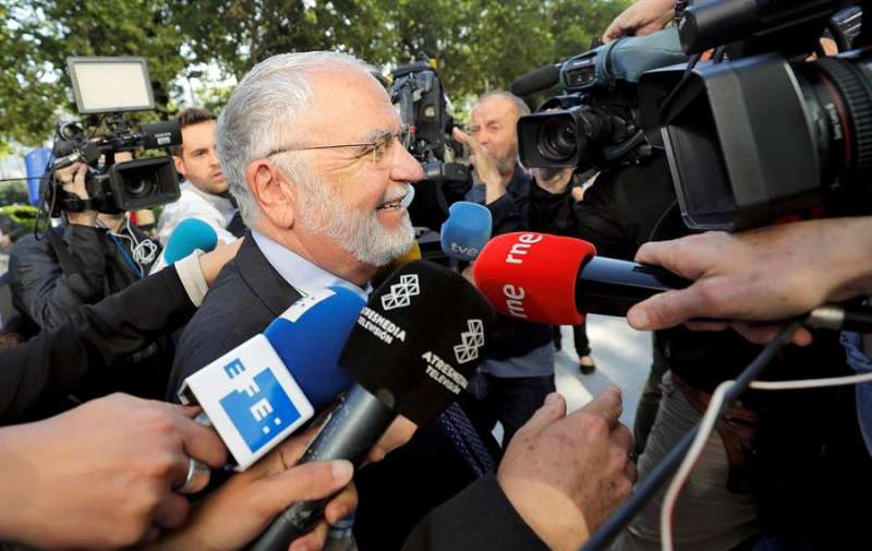 El exvicepresidente del Gobierno valenciano Juan Cotino. EFE/Manuel Bruque/Archivo