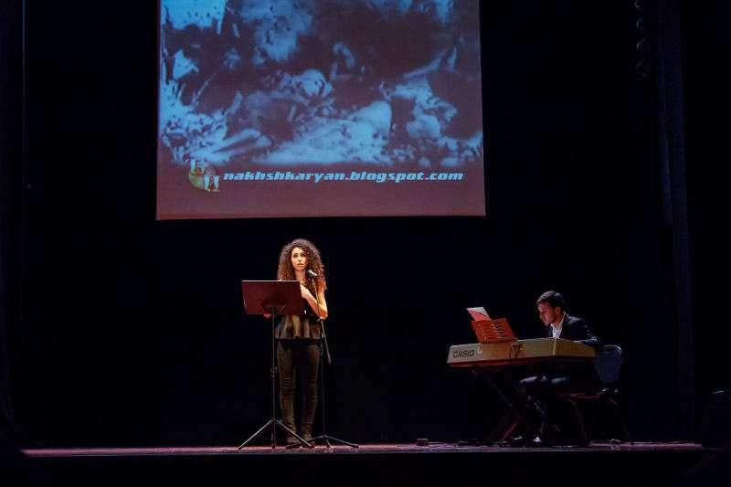 Espectáculo de Ararat, de Mislata, en conmemoración del genocidio armenio. EPDA