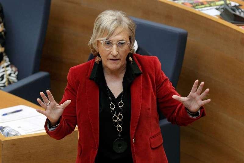 La consellera de Sanidad, Ana Barceló, en Les Corts. - EFE/Kai Försterling