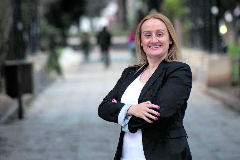 Virginia Garrigues, candidata del PP en Alboraya. / EPDA