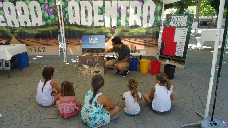 Educador@s ambientales llevan a cabo la actividad