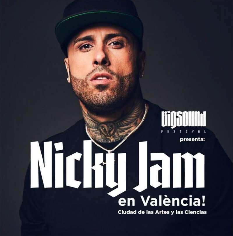 Foto de Nicky Jam cedida por el Festival de Música Urbana de València.