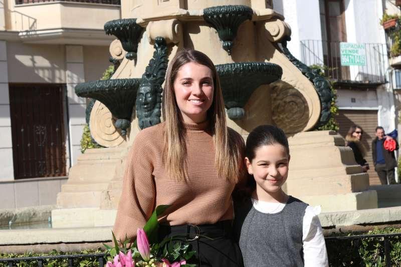 María Rubicos y Lucía Magdalena, reinas