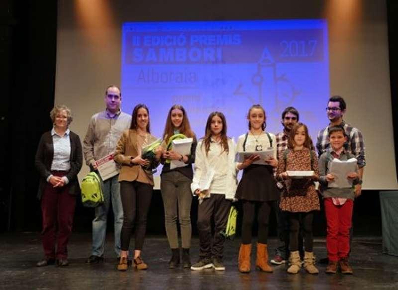 Entrega de los premios Sambori. EPDA