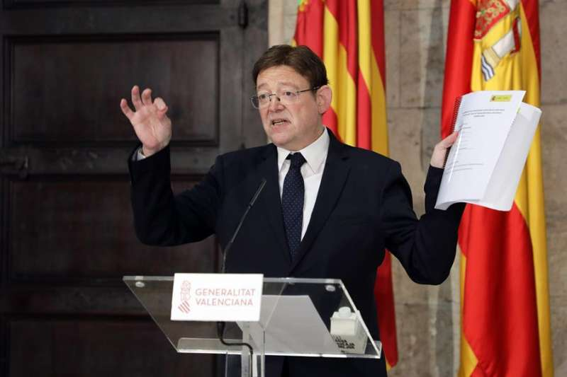 El president de la Generalitat, Ximo Puig, en una imagen de archivo.EFE/ Victor Martinez