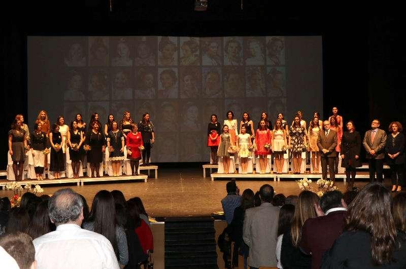 Celebració de les 40 anys de falleres majors infantis a Torrent. EPDA