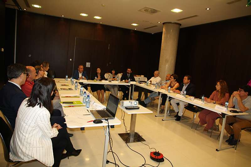Reunión entre ASECAM y Bankia. EPDA