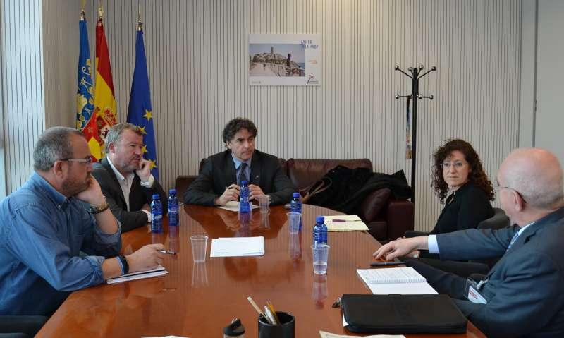 Reunión mantenida con en la Agència Valenciana del Turisme. EPDA
