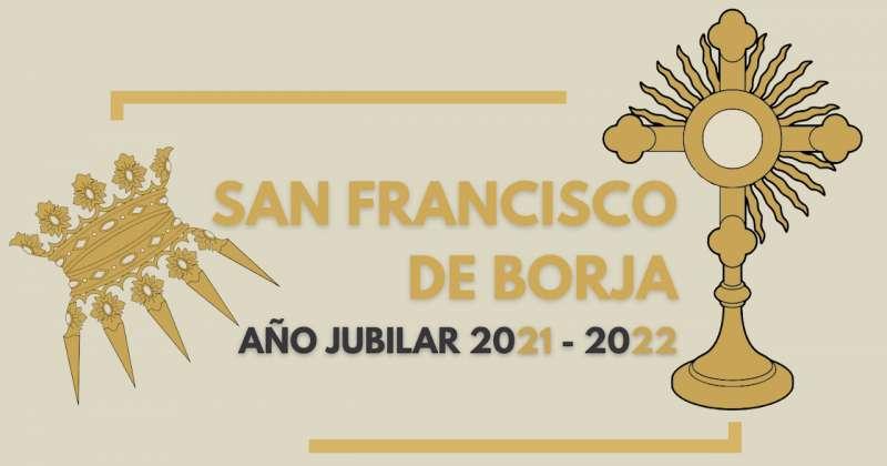Logo del Año Jubilar de san Francisco de Borja.