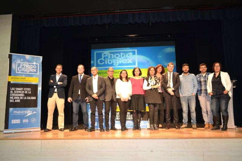 Presentación del PhotoCityTex en Quart de Poblet. EPDA
