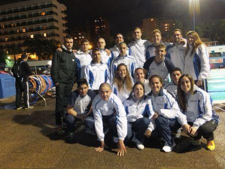 El equipo masculino en categoría absoluta logra ser el segundo mejor conjunto nacional.