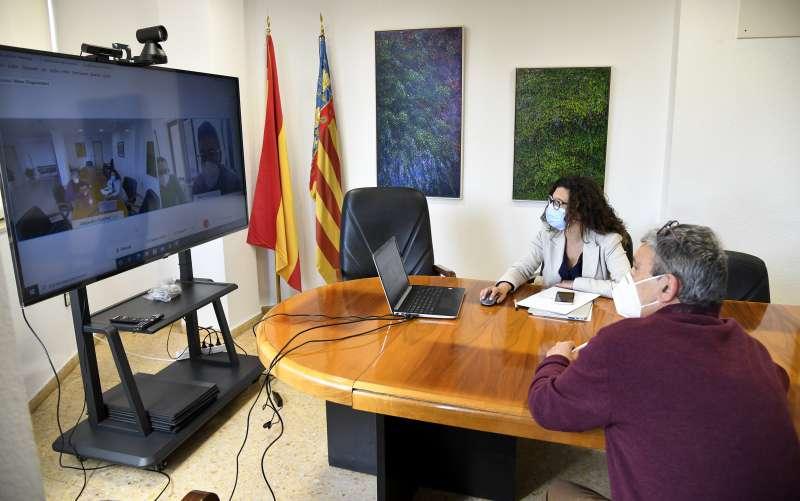 Reunió online a Paiporta. EPDA