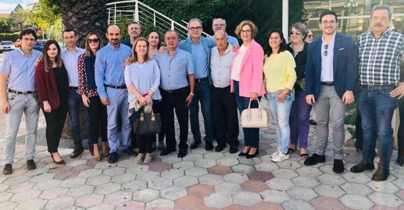 Populares de la comarca de Camp de Túria en el inicio de campaña del 10N.