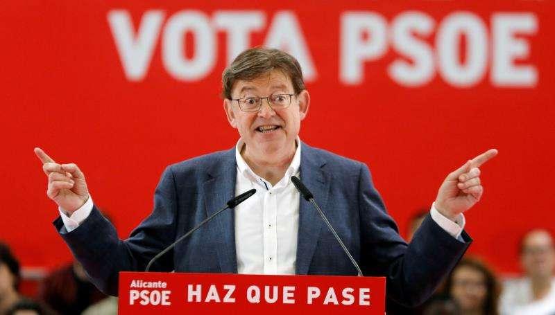Ximo Puig, candidato socialista a la Generalitat. EFE
