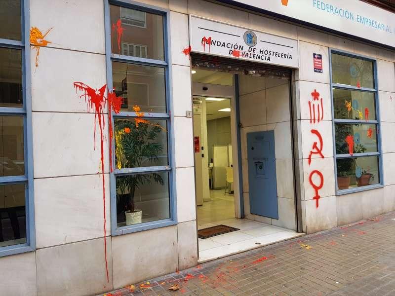 Sede de la Federación Empresarial de Hostelería de València